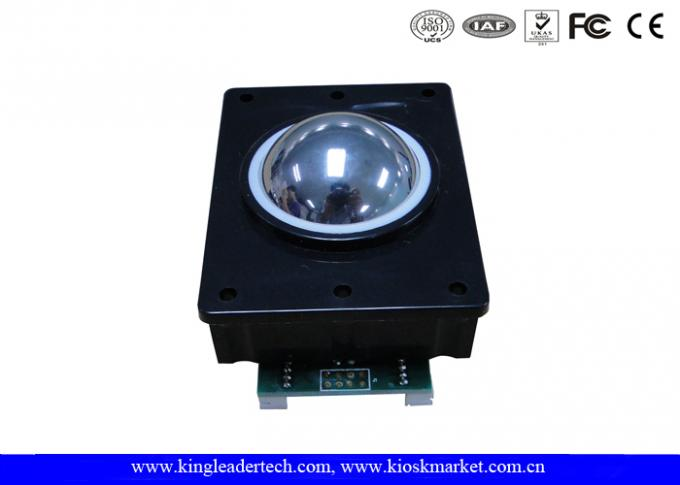 Optical Trackball Module Industrial Pointing Device Durable 304 Stainless Steel Material