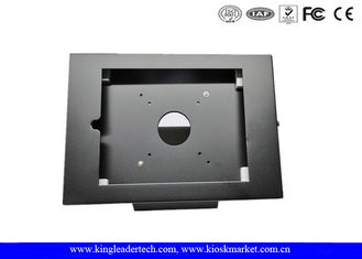 9.7 Inches iPad Kiosk Enclosure Stand With Camera Hole Exposed