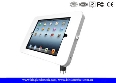 China Desktop Mounted iPad / tablet kiosk stand with Metal Material Flexible Goose Neck supplier
