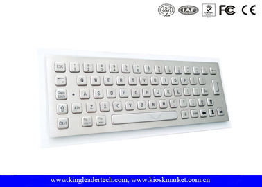 Dust-Proof Industrial Mini Keyboard Customizable With 64 Full Travel Metal Keys