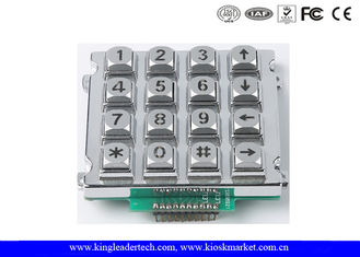 China Metal Industrial Numeric Keypad With / Without Backlight Ideal For Control System supplier