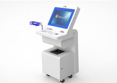 China OEM Hospital Touch Screen Information Kiosk TFT LED Display With Wheels supplier