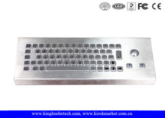 China IP68 Industrial Keyboard With Trackball For Industrial Desktop Designed supplier