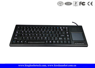 China Rugged Plastic Industrial Keyboard With Function Keys And Integrated Touchpad supplier