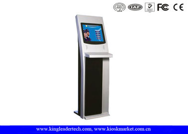 China 19Inch SAW Touch Screen Free Standing Kiosk Stand For Coffee Bar supplier