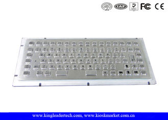 86 Keys Industrial Mini Keyboard IP65 Dust-Proof With PS/2 Or USB Interface