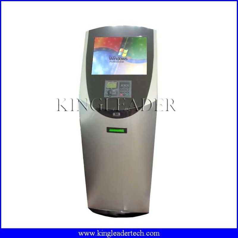 China Payment Kiosk Pc With Paystationbarcode Scanner And 80mm Thermal Printer Custom Design Supplier