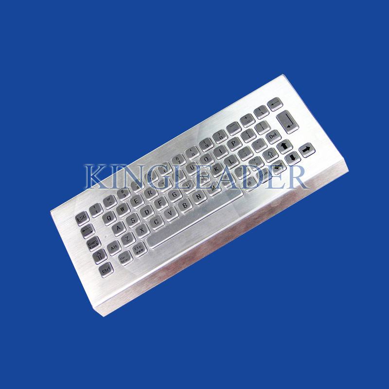 Small sized industrial desktop keyboard stainless steel in for Small size piano