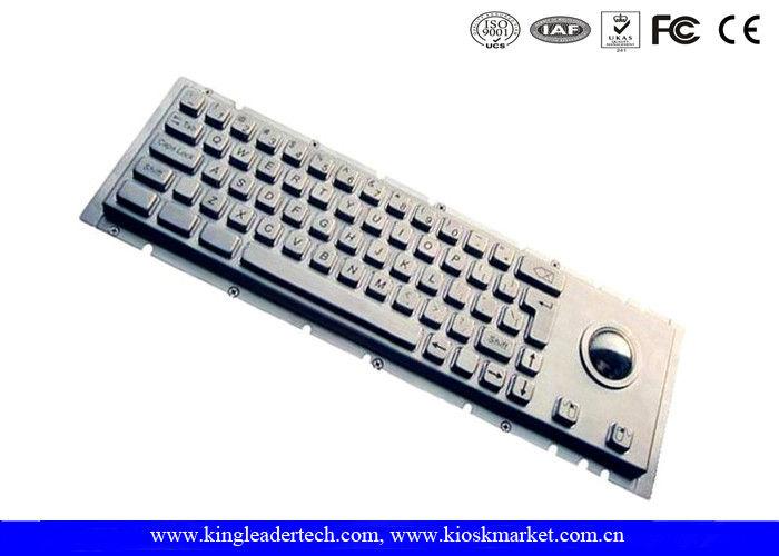 IP65 Cherry Keyswitch Panel Mount Kiosk Mechanical Keyboard With