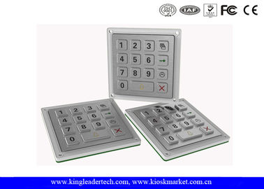 China IP65 Metal Vandal Proof Industrial Keypad For Outdoor Access System factory