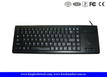 87 Keys Plastic Industrial Keyboard with Trackball for Widely Use