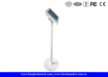 China Tamper Proof Anti Theft iPad kiosk Safe Security Public Floor Stand factory