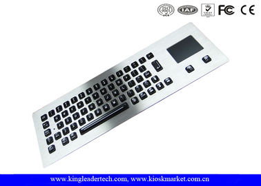 Customized Layout Panel Mount Keyboard Metal with Touchpad Mouse / Vandal proof Keyboard