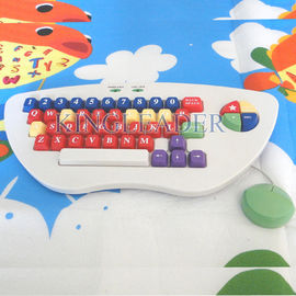 Children keyboard with anti pull-off or pop-off designed keys  K-800
