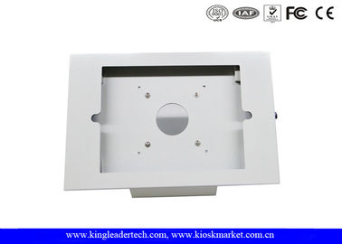 China Powder Coated Rugged Metal Ipad Security Kiosk Desktop / Wall Mounting factory