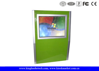 Slim SAW Touch Screen Wall Mount Kiosk For Self Service Information Checking