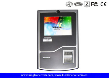 TFT LCD Display Stylish Wall Mount Kiosk With SAW Touch Screen For Convenience Store