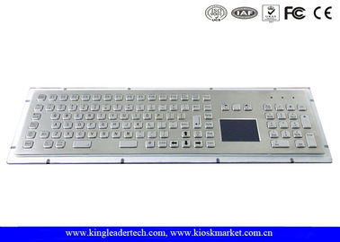 IP65 Rated Rugged Panel Mount Metal Keyboard With Numeric Keypad In Special Design