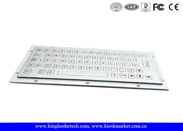 Stainless Steel Industrial Mini Keyboard IP65 With 64 Short Travel Keys